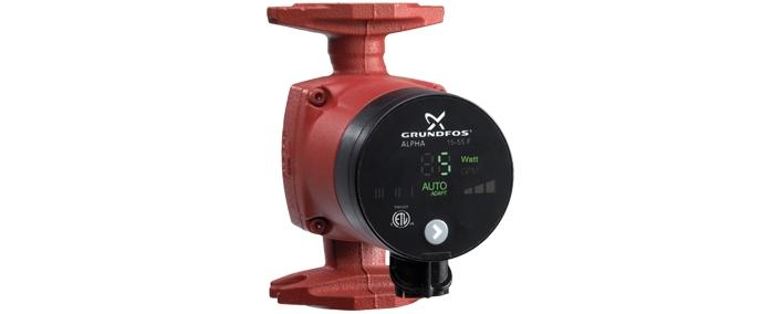 Grundfos Alpha with AUTOADAPT | Inline Water Pump in Pune