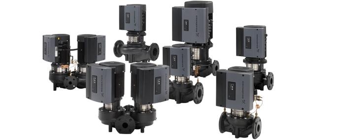 Grundfos TP/TPE Vertical Inline Water Pump for Sale in Pune